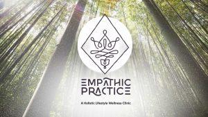 Empathic Practice logo in woods