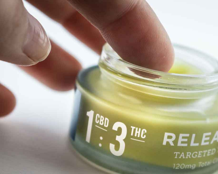 In photo: Topical THC/CBD ointment. Attribute: Understanding cannabis coaching and its benefits.